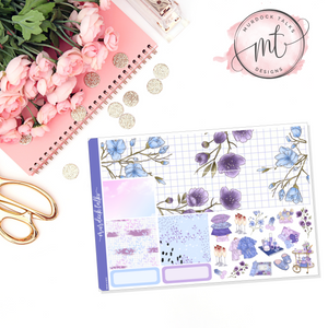 Lavender Dreams Washi