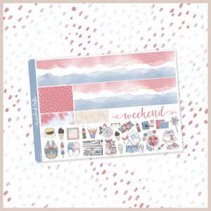 Red, White & Boom Washi