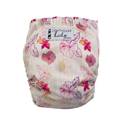 Lighthouse Kids Company All-In-One Cloth Diaper Bamboo Aloha Dreams