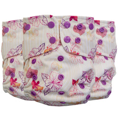 Lighthouse Kids Company SUPREME All-In-One Cloth Diaper Bamboo Aloha Dreams
