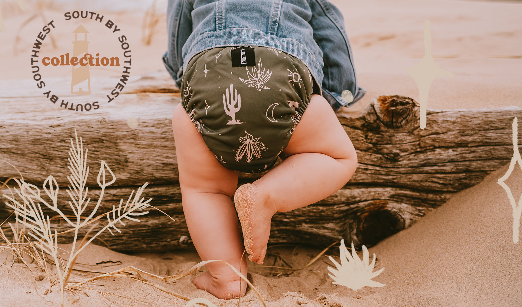 South By Southwest Cloth Diaper