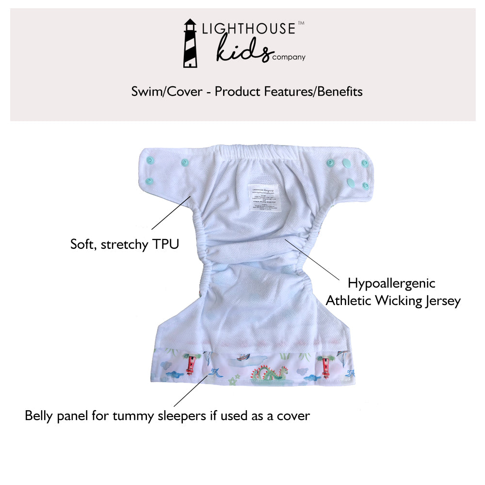 Lighthouse Kids Company Swim Diaper
