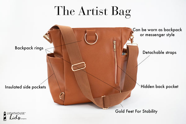 The Artist Bag Back Info