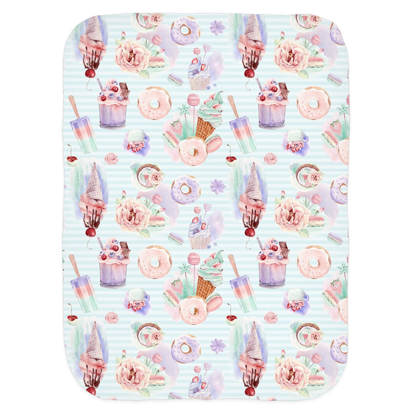 Spring Sweets - Jersey Stretch Swaddle
