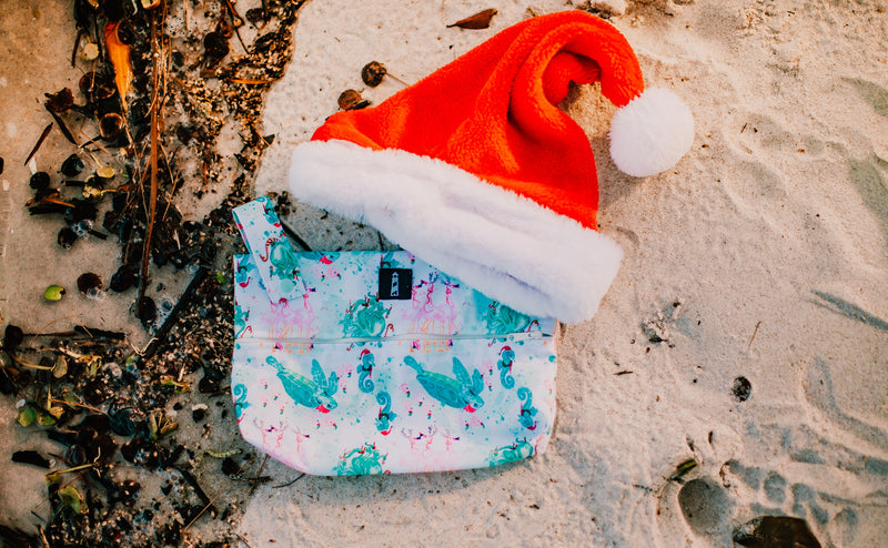 SIMPLICITY™️ Small Wet Bag -  Coastal Christmas