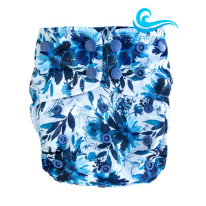 Open image in slideshow, Reusable Swim Diaper - Indigo Girl - All Sizes