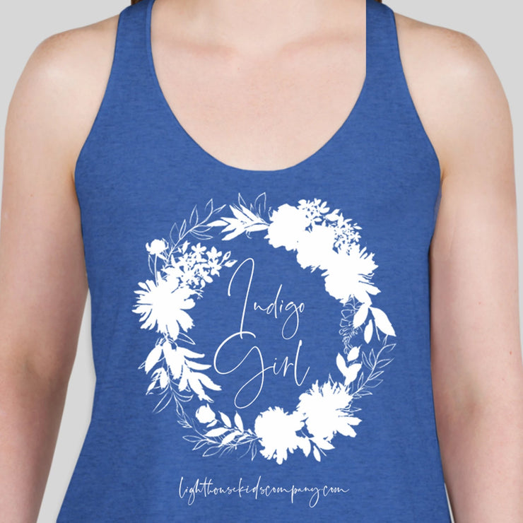 Outlet - Artst Limited Edition Tank - Indigo Girl