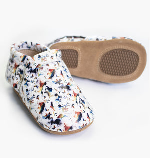 Baby/Big Kid T-Bar Moccasins - Into The Wild