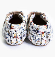Baby/Big Kid T-Bar Moccasins - Into The Wild - PRE-ORDER