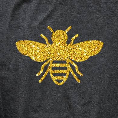 LKC Hearts Bee - Crew neck shirt - PRE-ORDER -Ships in 2-3 Weeks