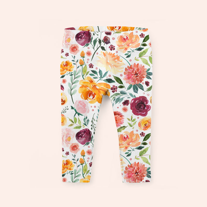 Late Bloom - Soft and Stretchy Kid's Leggings
