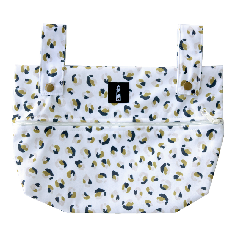 SIMPLICITY™️ Small Wet Bag - Neutral Nature Cheetah