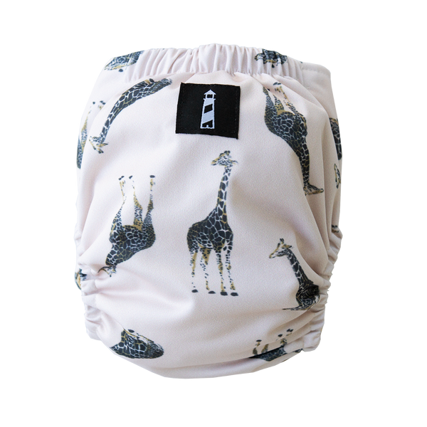 SIMPLICITY™️ - SWIM/Cover - Neutral Nature Giraffe