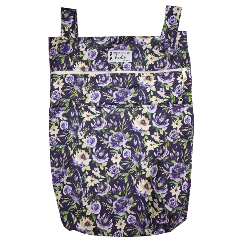 SIGNATURE™️ - Double Pocket Wet Bag - Purple Vintage
