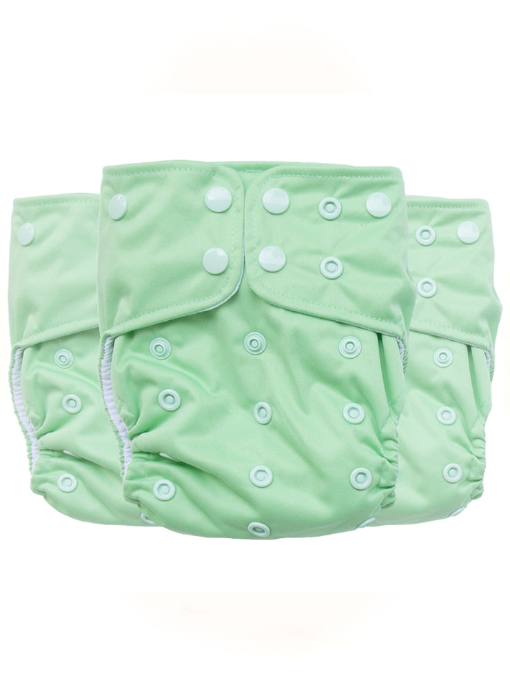 Sea Glass - SUPREME™️ - AIO Diaper - NO LARGE SUPREME INSERT