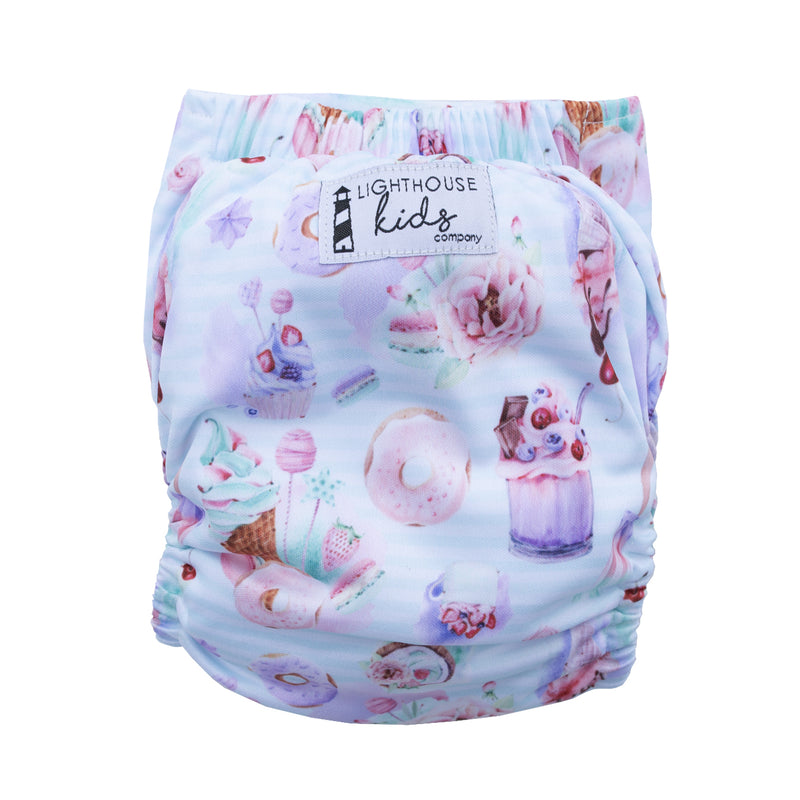 Adjustable Baby Swim Diaper - Spring Sweets