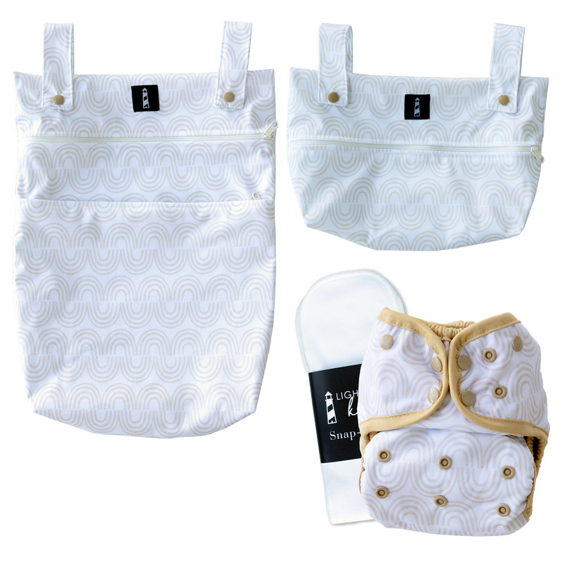 SWITCH™️ Cover and Insert Cloth Diaper Bundle - Rainbow