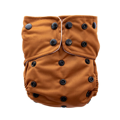 Adjustable Baby Cloth Diaper - All-In-One - Wild Woods