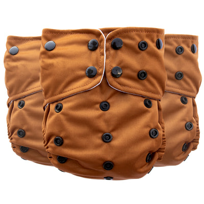 Adjustable Toddler Cloth Diaper - All-In-One - Wild Woods