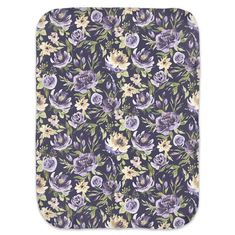 Purple Vintage Swaddle Blankets