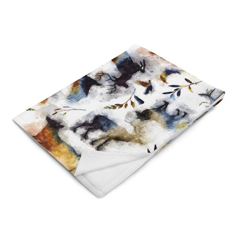 Into The Wild - Silky Soft Touch Throw Blanket