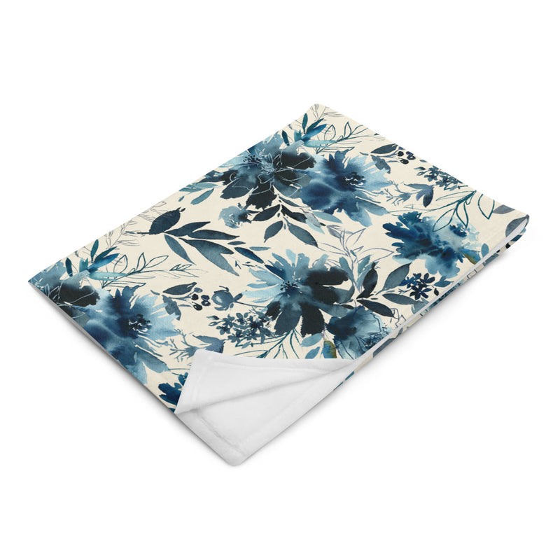 Indigo Girl - Silky Soft Touch Throw Blanket