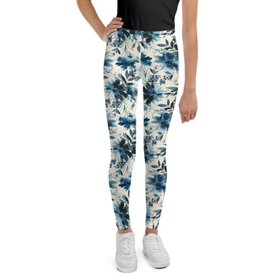Indigo Girl - Soft and Stretchy Youth Leggings