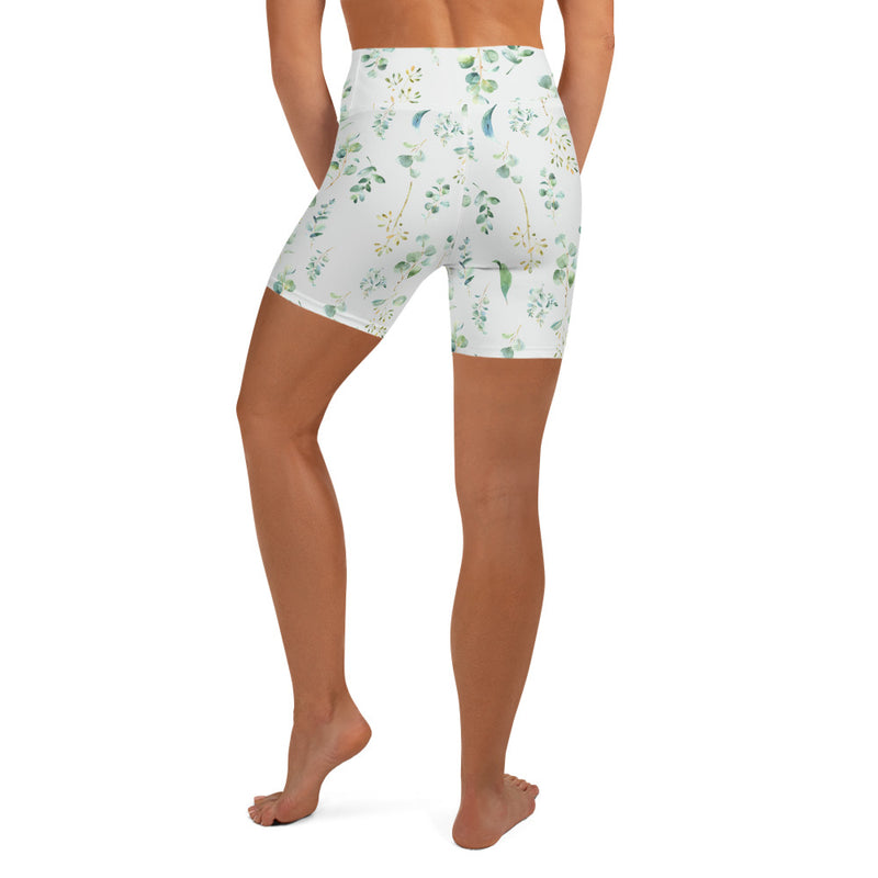 Eucalyptus Yoga Shorts