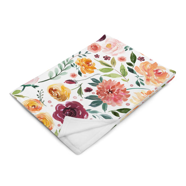 Late Bloom - Silky Soft Touch Throw Blanket