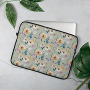Wild Blossom - Neoprene Laptop Sleeve