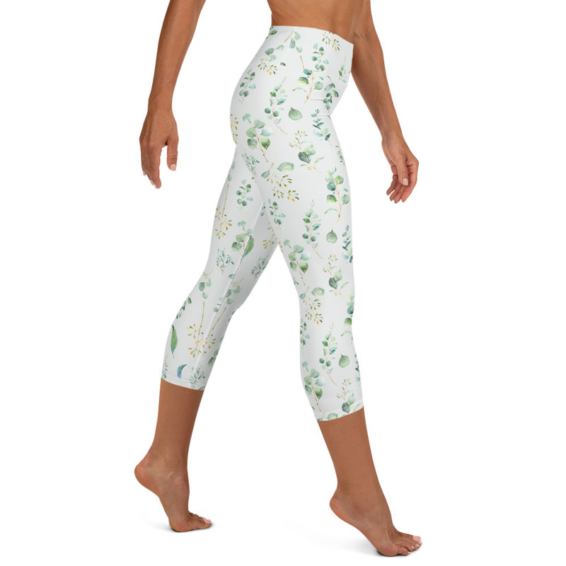 Eucalyptus Yoga Capri Leggings