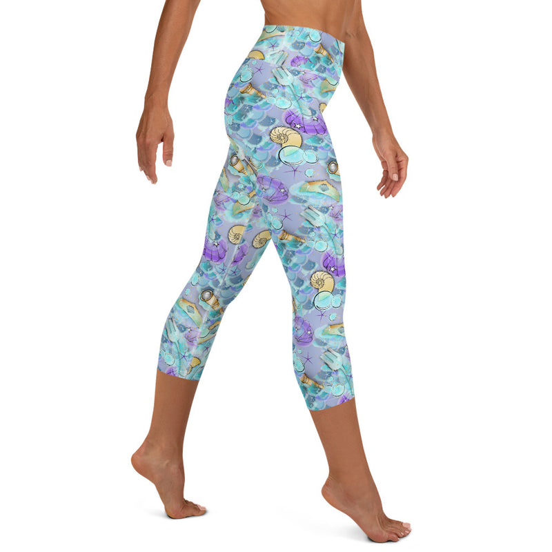 Fathoms Princess - Yoga Capri Leggings