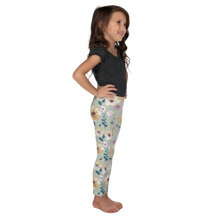 Wild Blossom - Soft and Stretchy Kid's Leggings