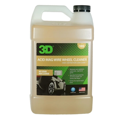 3D Acid Mag Wire Wheel Cleaner