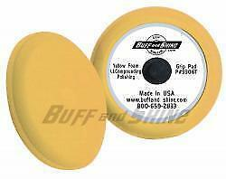 "Buff and Shine 9"" Foam Grip Pad w/ Center Tee"