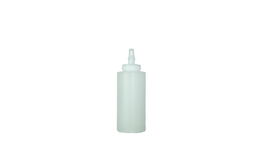 Cylinder Bottles with Ribbon Applicator 12oz.