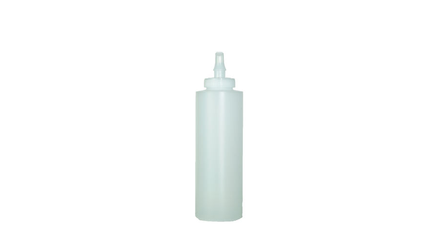 Cylinder Bottles with Ribbon Applicator 16oz.