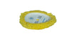 "Lake Country 7.5"" x 1.5"" Yellow Twisted 40/60 Polishing Pad"
