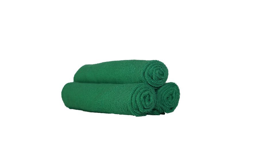 Single Pile Microfiber Towel (10 Pack)