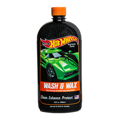 Hot Wheels Wash & Wax