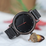 Black Coffee Wood Watch