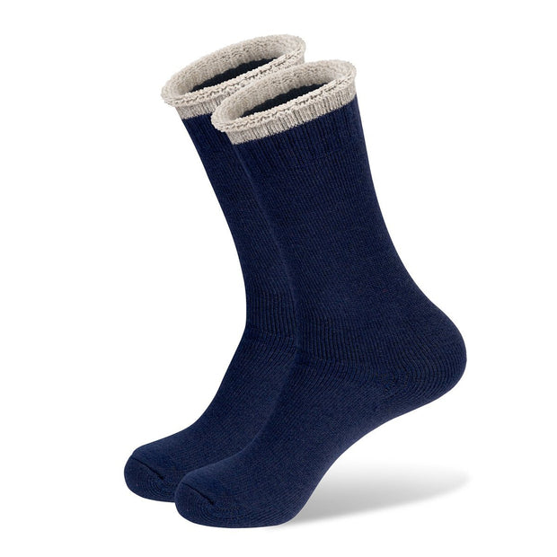 Mainlander Navy Hiking, Trekking, Hunting, Work Wool Socks.