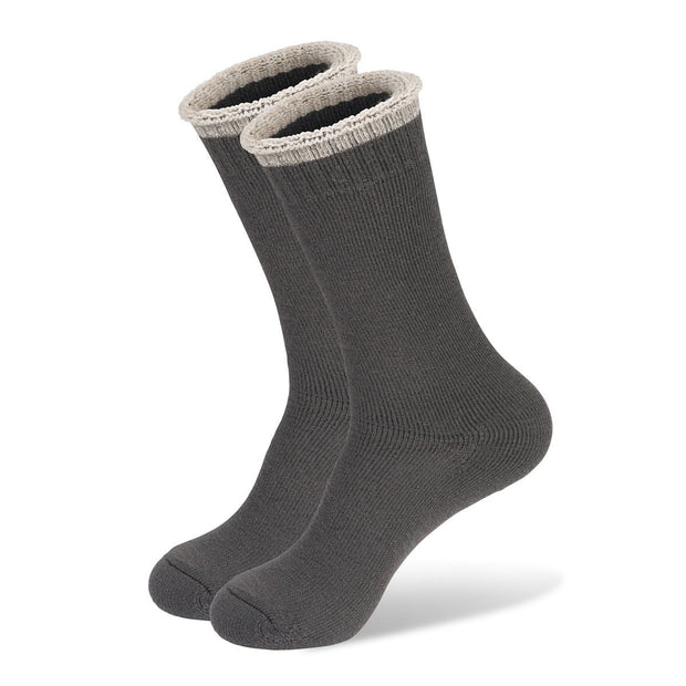 Mainlander Grey Hiking, Trekking, Hunting, Work Wool Socks.