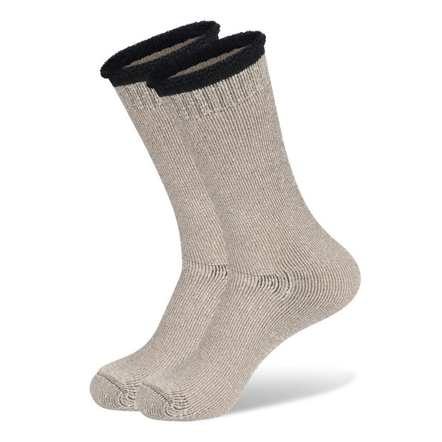 Mainlander Natural Cream Hiking, Trekking, Hunting, Work Wool Socks.