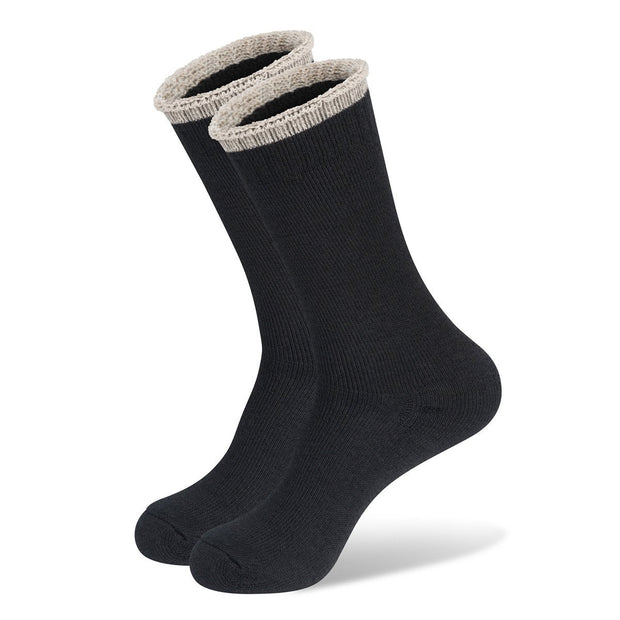 Mainlander Black Hiking, Trekking, Hunting, Work Wool Socks.