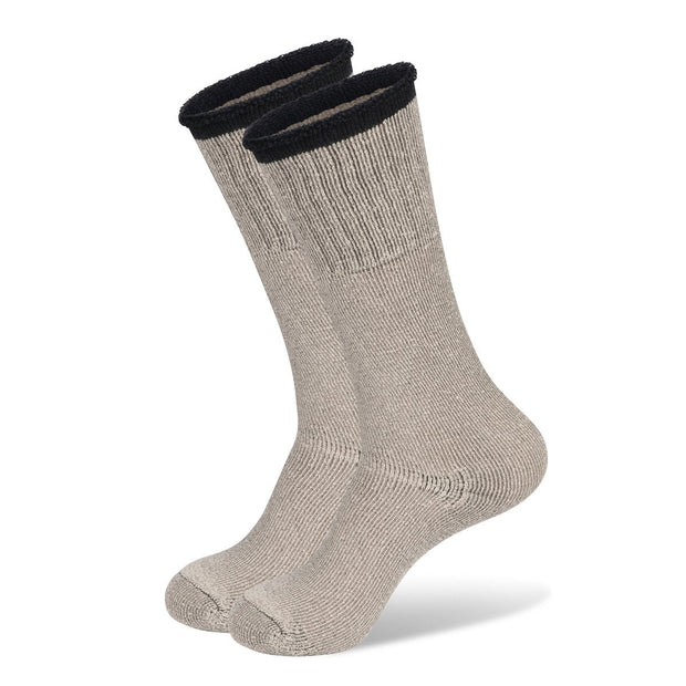Hunting Boot Socks In Natural Oatmeal Cream