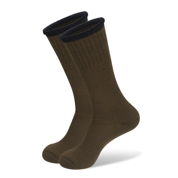 Hunting Boot Socks In Khaki Camo