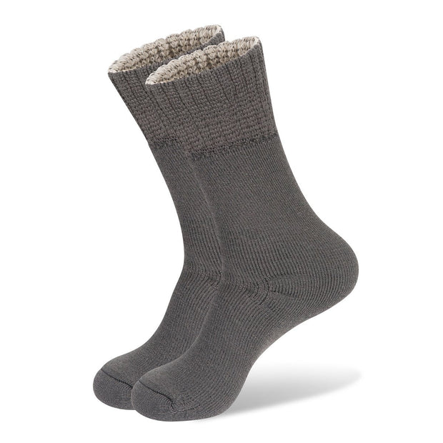 Wanderer Women's Hiking Wool Socks In Grey