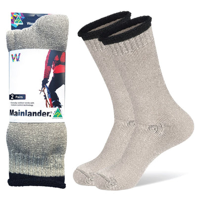 Australian Made Mainlander Work Hiking Snow Socks By Wearproof