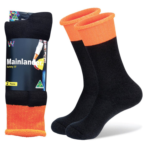 Safety Work Socks Orange